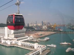 Nih, Harbourfront dari atas. Tuh kalo kalian datang via jalur laut, sampainya di sini nihh.